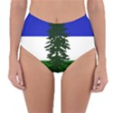 Flag of Cascadia Reversible High-Waist Bikini Bottoms View1