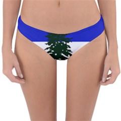 Flag Of Cascadia Reversible Hipster Bikini Bottoms