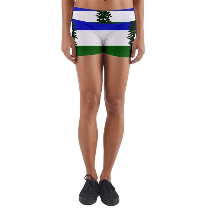 Flag of Cascadia Yoga Shorts