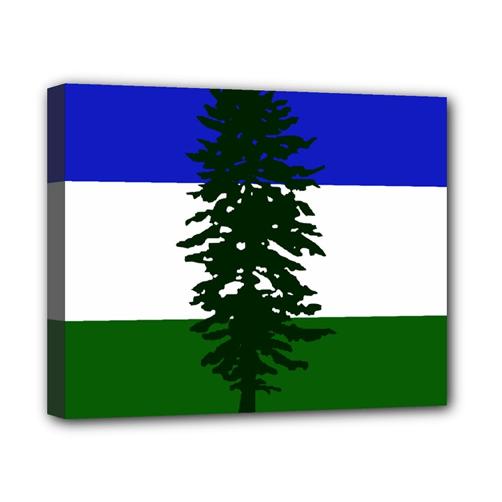 Flag of Cascadia Canvas 10  x 8