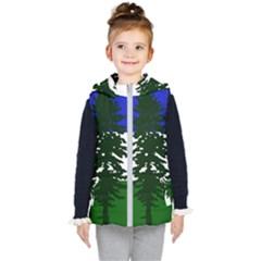 Flag Of Cascadia Kid s Puffer Vest