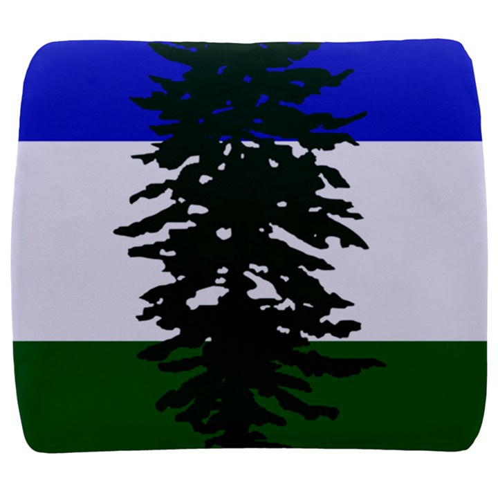 Flag of Cascadia Back Support Cushion
