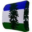 Flag of Cascadia Back Support Cushion View3