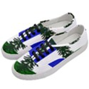 Flag of Cascadia Women s Classic Low Top Sneakers View2