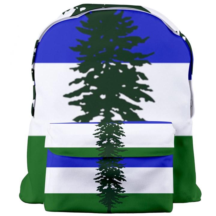 Flag of Cascadia Giant Full Print Backpack
