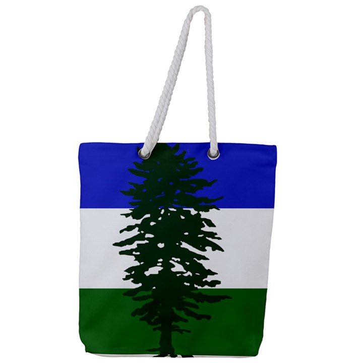 Flag of Cascadia Full Print Rope Handle Tote (Large)
