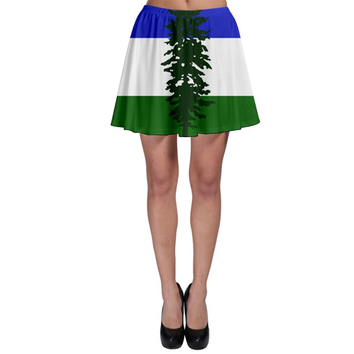 Flag of Cascadia Skater Skirt