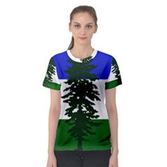 Flag Of Cascadia Women s Sport Mesh Tee