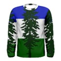 Flag of Cascadia Men s Long Sleeve Tee View1