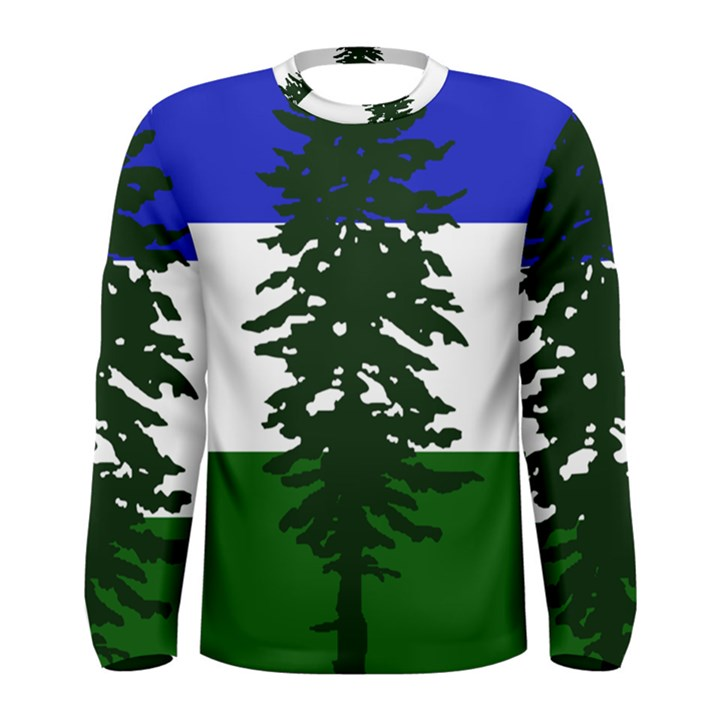 Flag of Cascadia Men s Long Sleeve Tee