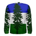 Flag of Cascadia Men s Long Sleeve Tee View2