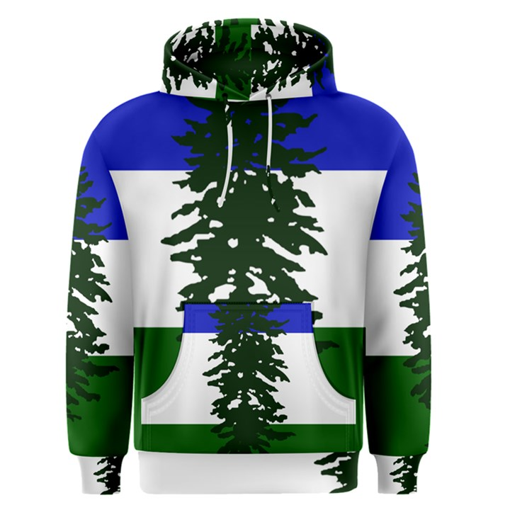 Flag of Cascadia Men s Pullover Hoodie