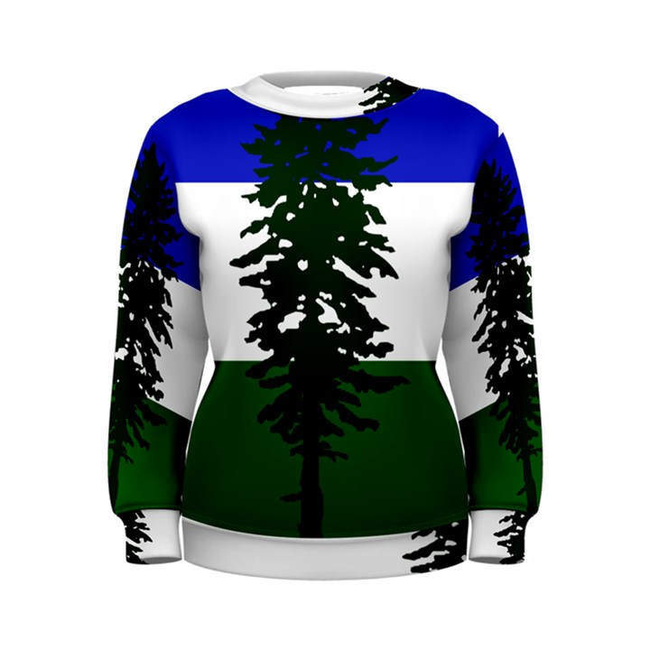 Flag of Cascadia Women s Sweatshirt