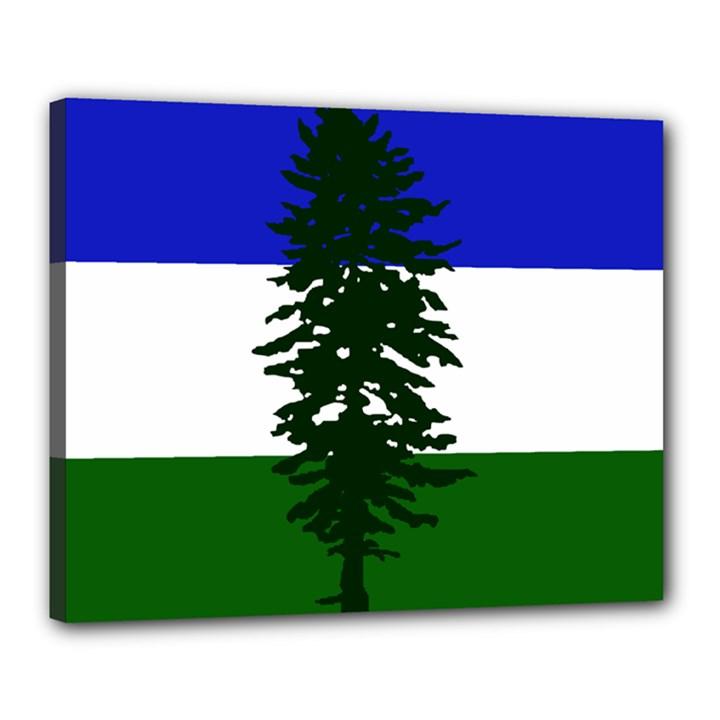 Flag of Cascadia Canvas 20  x 16