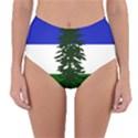 Flag of Cascadia Reversible High-Waist Bikini Bottoms View3