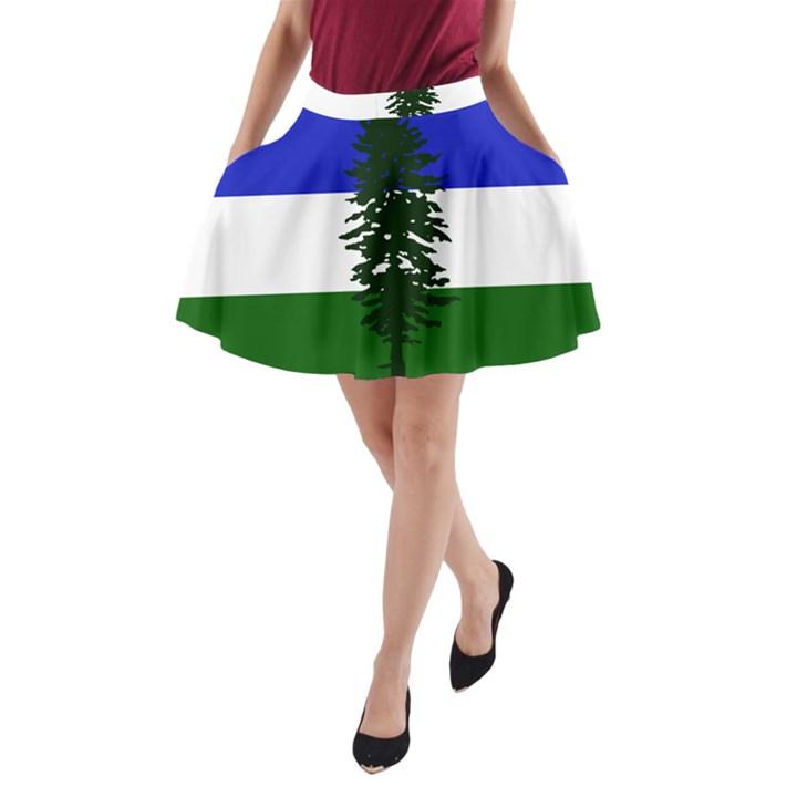 Flag of Cascadia A-Line Pocket Skirt