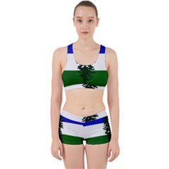Flag Of Cascadia Work It Out Sports Bra Set