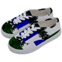 Flag of Cascadia Kids  Classic Low Top Sneakers View2