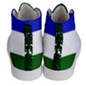 Flag of Cascadia Men s Hi-Top Skate Sneakers View4