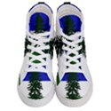 Flag of Cascadia Women s Hi-Top Skate Sneakers View1