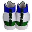 Flag of Cascadia Women s Hi-Top Skate Sneakers View4