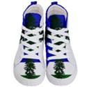 Flag of Cascadia Kid s Hi-Top Skate Sneakers View1