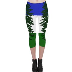 Flag Of Cascadia Capri Leggings