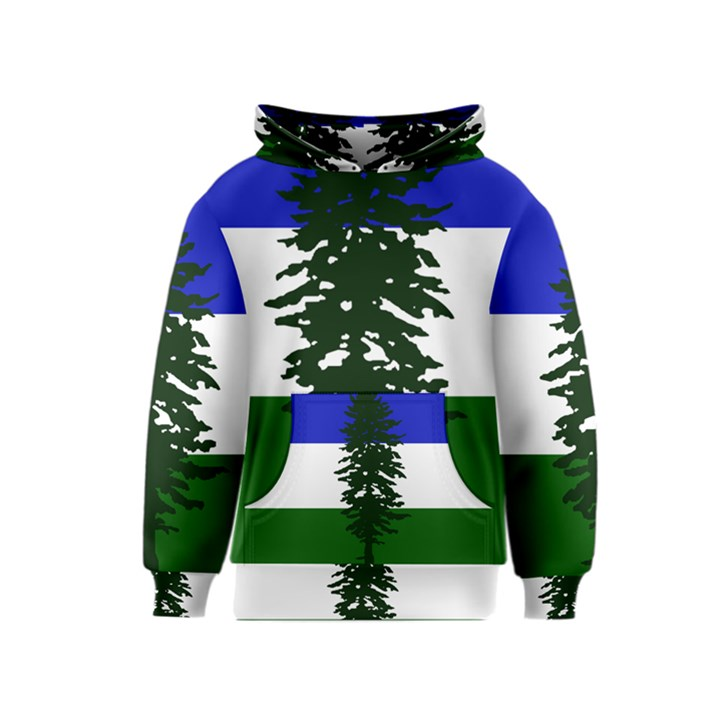 Flag of Cascadia Kids  Pullover Hoodie