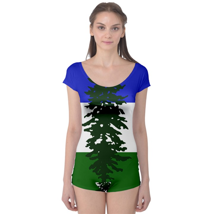 Flag of Cascadia Boyleg Leotard
