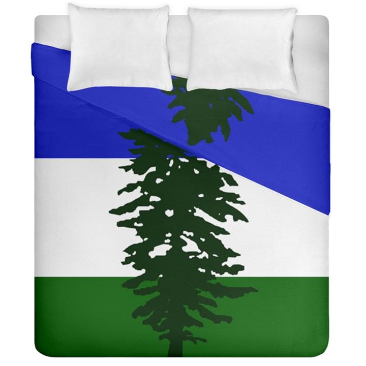 Flag of Cascadia Duvet Cover Double Side (California King Size)