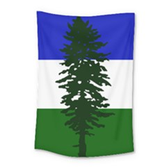 Flag Of Cascadia Small Tapestry