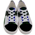 Flag of Cascadia Women s Low Top Canvas Sneakers View1