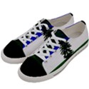 Flag of Cascadia Women s Low Top Canvas Sneakers View2