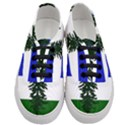Flag of Cascadia Women s Classic Low Top Sneakers View1