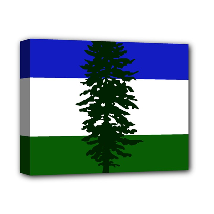 Flag of Cascadia Deluxe Canvas 14  x 11