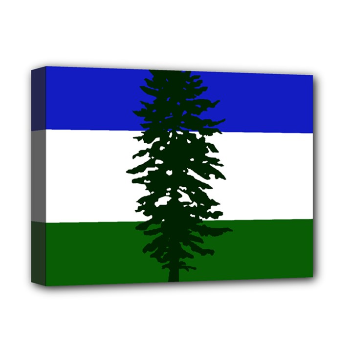 Flag of Cascadia Deluxe Canvas 16  x 12