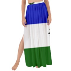 Flag Of Cascadia Maxi Chiffon Tie Up Sarong