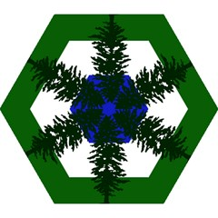 Flag Of Cascadia Mini Folding Umbrellas