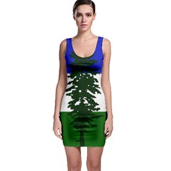 Flag Of Cascadia Bodycon Dress