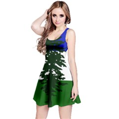 Flag Of Cascadia Reversible Sleeveless Dress