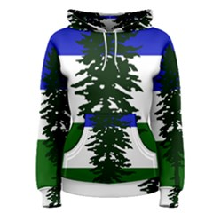 Flag Of Cascadia Women s Pullover Hoodie