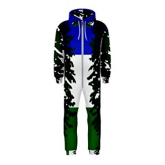 Flag Of Cascadia Hooded Jumpsuit (kids)