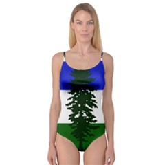 Flag Of Cascadia Camisole Leotard