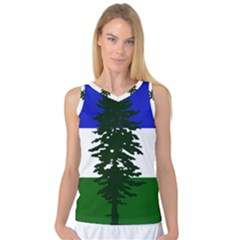 Flag Of Cascadia Women s Basketball Tank Top