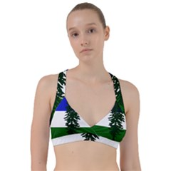 Flag Of Cascadia Sweetheart Sports Bra