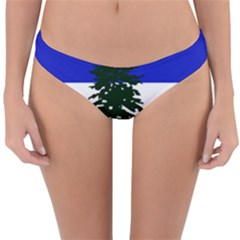 Flag Of Cascadia Reversible Hipster Bikini Bottoms