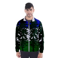 Flag Of Cascadia Wind Breaker (men)