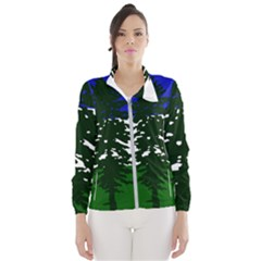 Flag Of Cascadia Wind Breaker (women)
