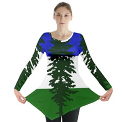 Flag Of Cascadia Long Sleeve Tunic