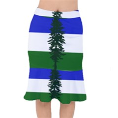 Flag Of Cascadia Mermaid Skirt